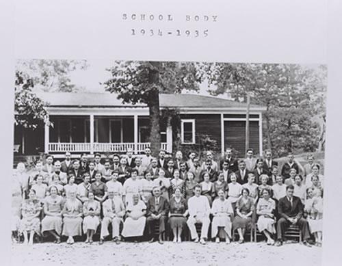 1934-1935 Student Body