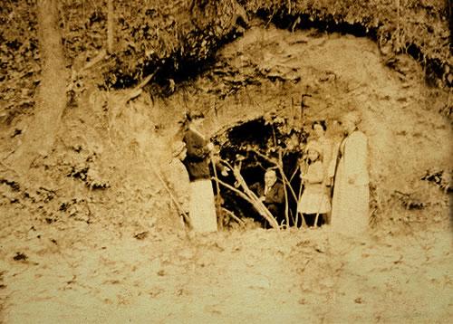 Indian Springs November 1913 with Dr. Forrest