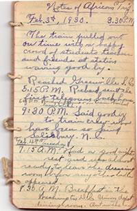February 4, 1930 diary entry