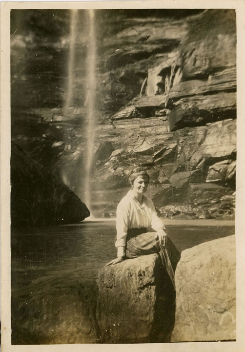 Evelyn Forrest at Toccoa Falls