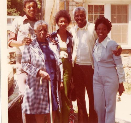 Bessie Wilson's family