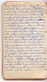 Diary April 1