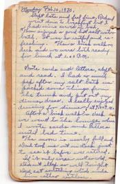 Diary February 10, 1930