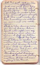February 22, 1930 diary entry