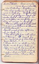 February 23, 1930 diary entry