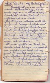 Diary February 26, 1930