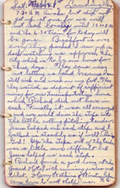 Diary March 1, 1930