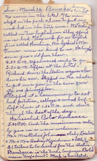 Diary March 14