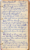 March 3, 1930 diary