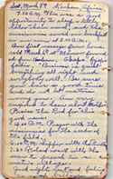 Diary March 8, 1930