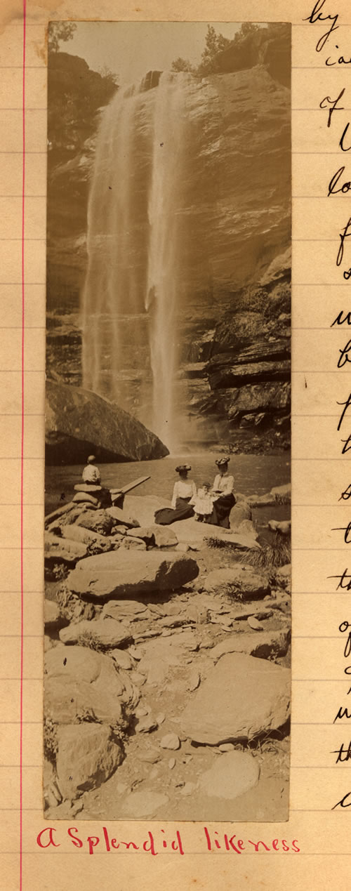 The Falls in the early 1900s