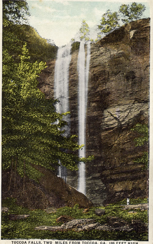 The Falls in a postcard