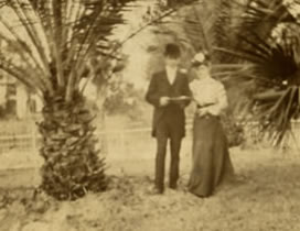 Richard and Evelyn Forrest in Florida