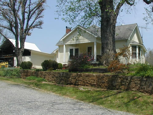 Golden Valley house and barn