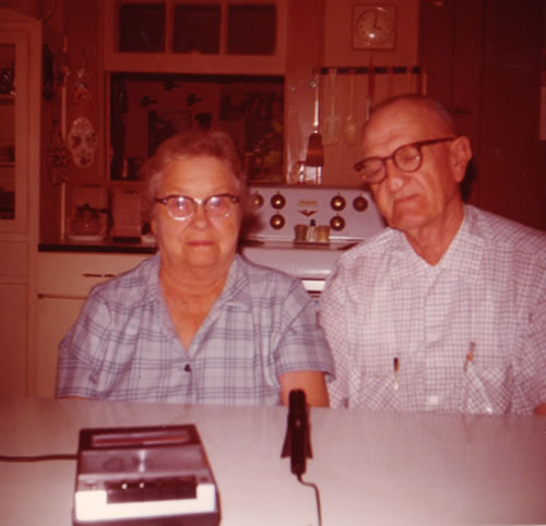 Mrs. And Mrs. Lipscomb—both died in 1976