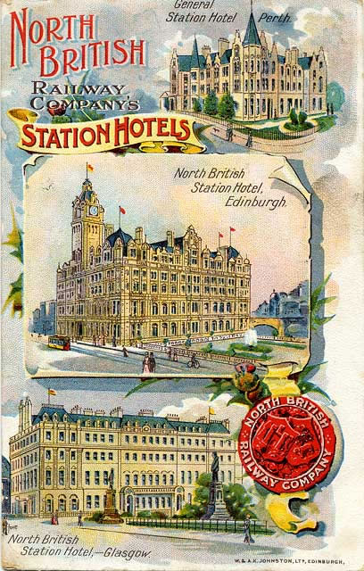 Postcard of where the Forrests stayed in London