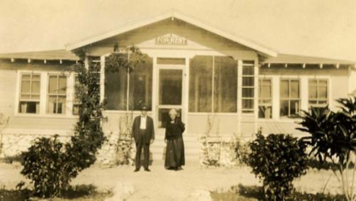 Dr. Forrest's parents