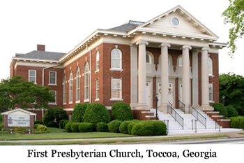 Toccoa, GA ~ The First Presbyterian Church